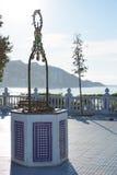 Allerta Alicante di Benidorm Mirador del Castillo Fotografie Stock Libere da Diritti