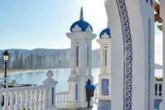 Allerta Alicante di Benidorm Mirador del Castillo Immagine Stock Libera da Diritti