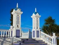 Allerta Alicante di Benidorm Mirador del Castillo Fotografie Stock