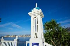 Allerta Alicante di Benidorm Mirador del Castillo Fotografia Stock
