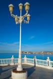 Allerta Alicante di Benidorm Mirador del Castillo Immagini Stock