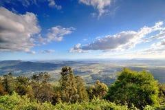 Allerta alla montagna di Tamborine in un giorno soleggiato Fotografia Stock