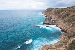 Allerta Australia della costa di Kalbarri Fotografia Stock