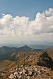 Allerta dal picco di Pachola in montagne di Rohace Immagine Stock Libera da Diritti