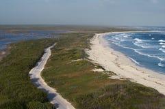Allerta del faro di Punta Sur Fotografie Stock Libere da Diritti