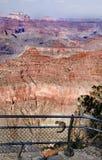 Allerta del Grand Canyon Fotografia Stock