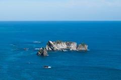 Allerta del punto dei cavalieri, Nuova Zelanda fotografia stock libera da diritti