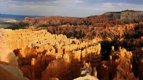 Allerta del punto di tramonto, canyon di Bryce Fotografia Stock