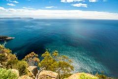 Allerta del sud del parco nazionale di Bruny Fotografia Stock Libera da Diritti
