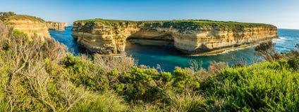 Allerta dell'isola di uccello del montone nei dodici apostoli in Australia Fotografia Stock