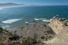 Allerta della costa dell'Oregon Fotografie Stock Libere da Diritti