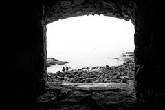 Allerta della fortezza del mare di Suomenlinna Immagine Stock