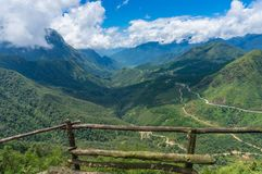 Allerta della natura della valle del portone di cielo Fotografie Stock Libere da Diritti