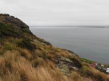Allerta della spiaggia di Tatlows, Stanley, Tasmania Fotografia Stock
