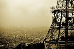 Allerta della torretta di Seoul Fotografia Stock