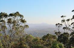 Allerta di Brisbane al Mt scenico Folaga-tha Immagini Stock