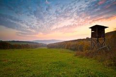 Allerta di caccia, Slovacchia Immagine Stock Libera da Diritti