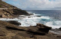 Allerta di Lanai, Oahu, Hawai Fotografia Stock Libera da Diritti