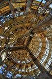 Allerta di legno della struttura Immagini Stock Libere da Diritti
