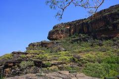Allerta di Nourlangie, al parco nazionale di Kakadu, Territorio del Nord, Australia Immagini Stock Libere da Diritti