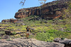 Allerta di Nourlangie, al parco nazionale di Kakadu, Territorio del Nord, Australia Fotografie Stock Libere da Diritti