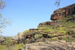 Allerta di Nourlangie, al parco nazionale di Kakadu, Territorio del Nord, Australia Fotografia Stock