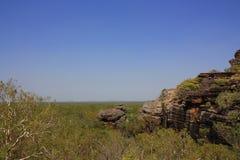 Allerta di Nourlangie, al parco nazionale di Kakadu, Territorio del Nord, Australia Immagine Stock