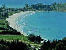Allerta di Puketeraki della spiaggia di Karitane Immagini Stock Libere da Diritti