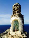Allerta di Punta Galinas immagini stock