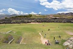 Allerta di Saqsaywaman Cusco peru Fotografia Stock