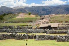 Allerta di Saqsaywaman Cusco peru Immagini Stock