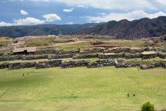 Allerta di Saqsaywaman Cusco peru Immagine Stock Libera da Diritti