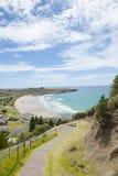 Allerta di Stanley Tasmania sopra l'oceano Fotografia Stock Libera da Diritti