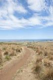 Allerta di Stanley Tasmania sopra l'oceano di Bass Strait Immagini Stock