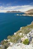 Allerta di Tourville del capo, parco nazionale di Freycinet, Tasmania, Australia Immagine Stock