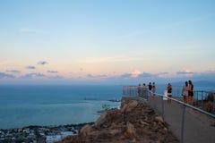Allerta di tramonto Fotografie Stock