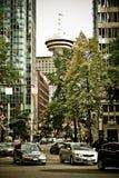 Allerta di Vancouver, Columbia Britannica Fotografia Stock