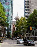 Allerta di Vancouver, Columbia Britannica Immagine Stock