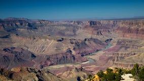 Allerta di vista del deserto Immagine Stock
