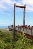 Allerta Forest Sky Pier di Sealy a Coffs Harbour Fotografia Stock
