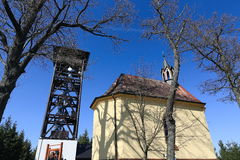 Allerta Marget Tower, Selva Boema, repubblica Ceca Fotografia Stock