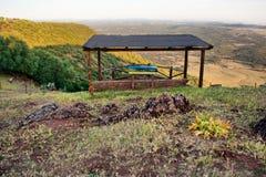 Allerta in montagna, Estremadura Fotografia Stock