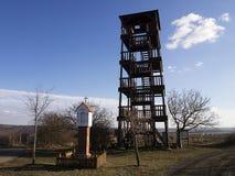 Allerta in Moravia del sud Immagini Stock Libere da Diritti