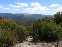 Allerta scenica della montagna rotonda, Tasmania Immagini Stock Libere da Diritti