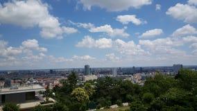 Allerta sopra Bratislava Fotografia Stock Libera da Diritti