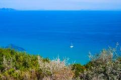 Allerta stupefacente alla spiaggia di Xigia, Zacinto Immagine Stock Libera da Diritti