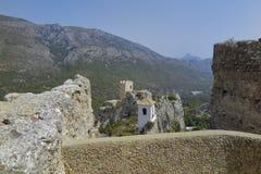 Allerta sul EL Castell de guadalest Fotografia Stock