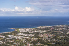 Allerta a Wollongong a sud di Sydney Immagine Stock Libera da Diritti