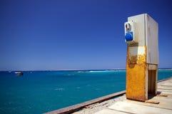 Alles blauw in Egypte Stock Afbeelding