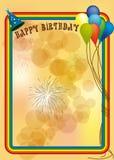 Alles Gute zum Geburtstag Stockbild